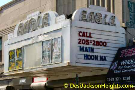 eagle theatre on 37th road in jackson heights