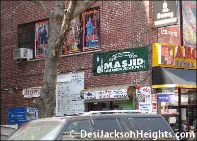 Masjid on 73rd Stree in Jackson Heights
