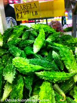 karela vegetable 74th st