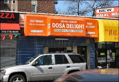 Dosa Delight, Jackson Heights